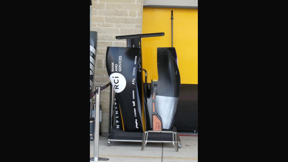Renault - GP USA - Austin - Formel 1 - Donnerstag - 19.10.2017