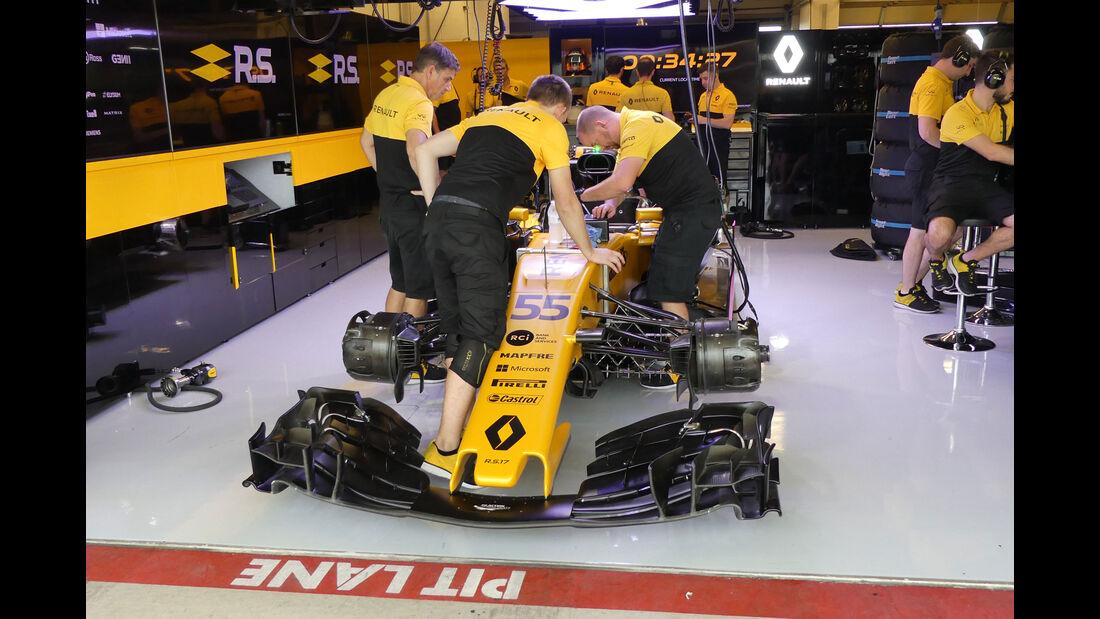 Renault - GP USA - Austin - Formel 1 - Freitag - 20.10.2017