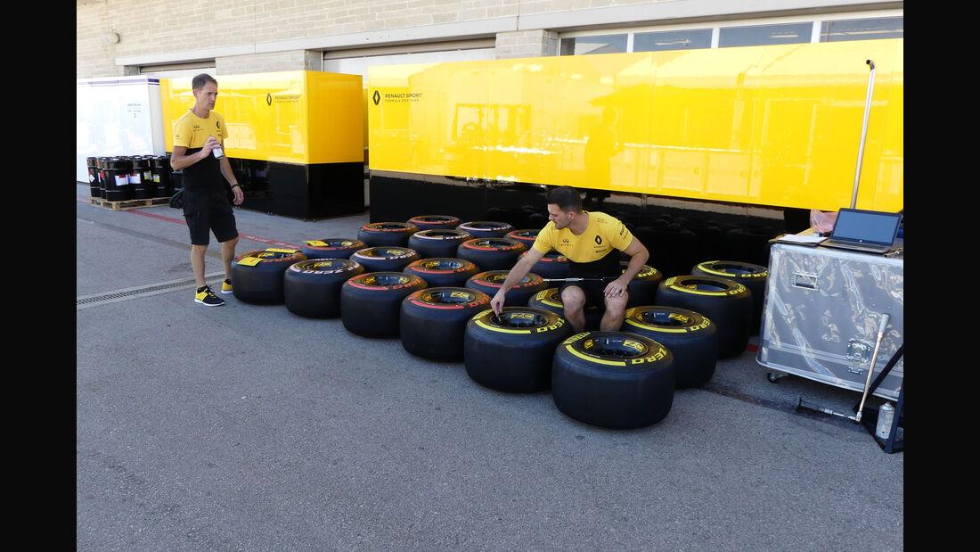 Renault - GP USA - Austin - Formel 1 - Mittwoch - 18.10.2017