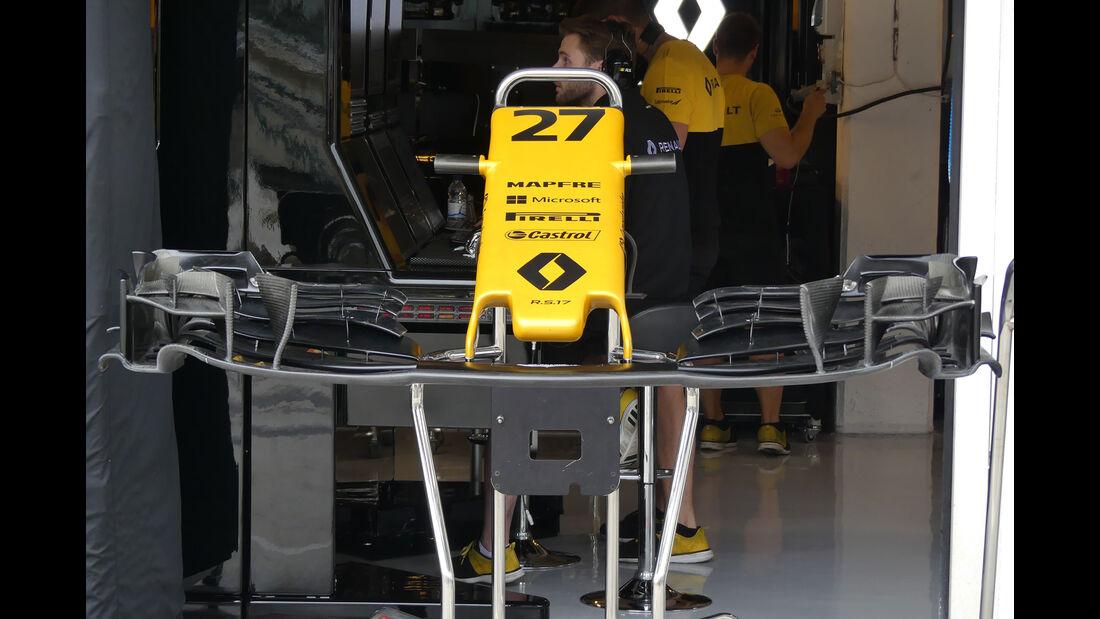Renault - GP Ungarn 2017 - Budapest - Formel 1 - Donnerstag - 27.7.2017