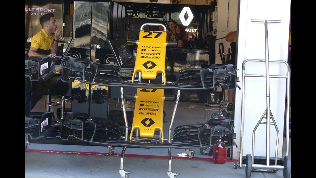 Renault - GP Ungarn - Budapest - Formel 1 - 28.7.2017