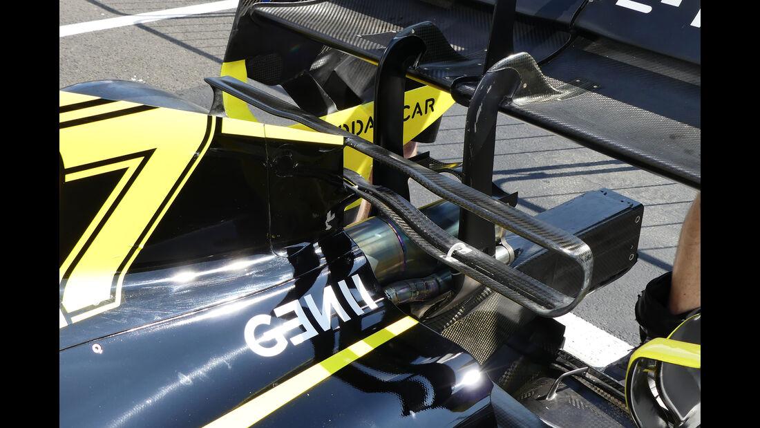 Renault - GP Ungarn - Budapest - Formel 1 - Donnerstag - 1.08.2019