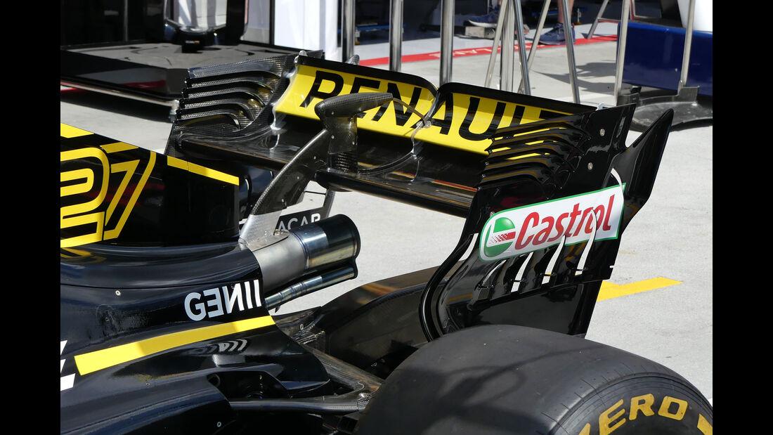 Renault - GP Ungarn - Budapest - Formel 1 - Donnerstag - 26.7.2018