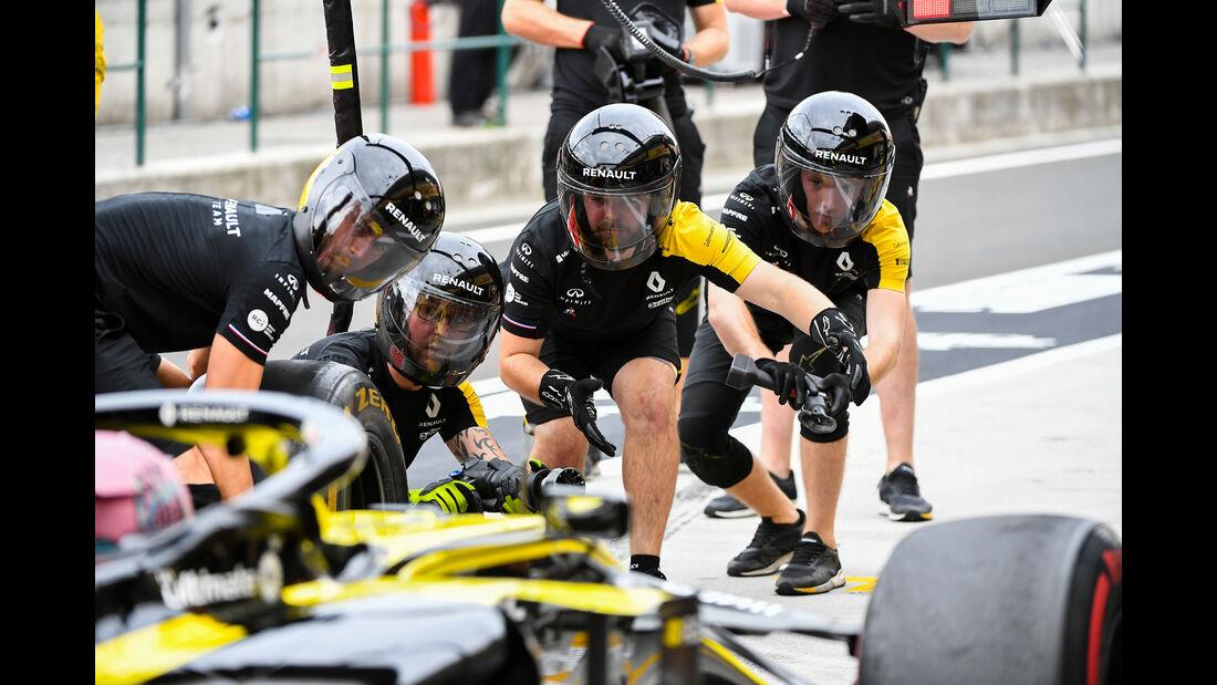Renault - GP Ungarn - Budapest - Formel 1 - Freitag - 1.8.2019