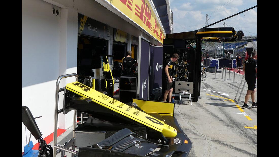 Renault - GP Ungarn - Budapest - Hungaroring - Mittwoch - 31.07.2019