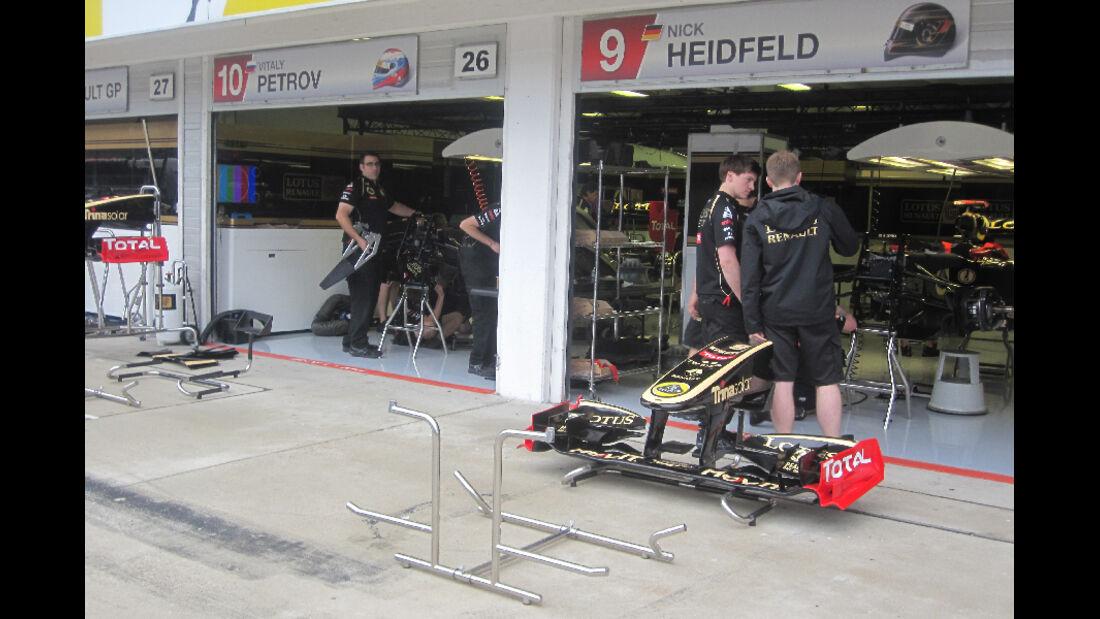 Renault - GP Ungarn - Formel 1 - 28.7.2011