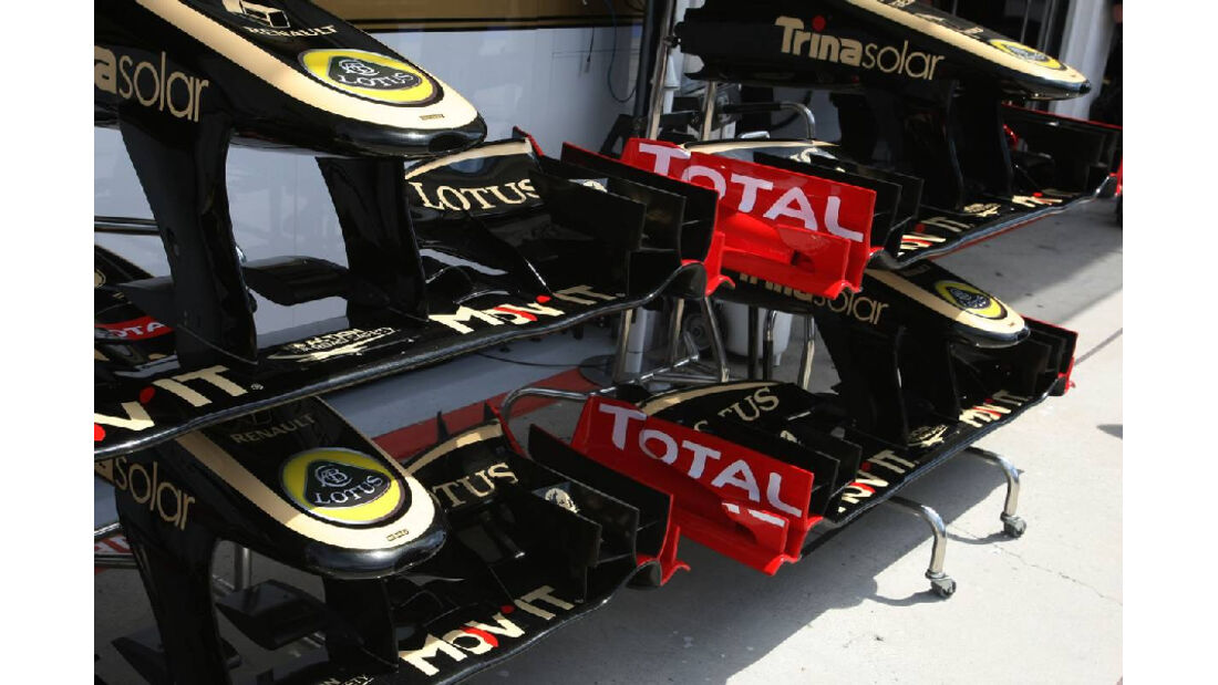 Renault - GP Ungarn - Formel 1 - 30.7.2011