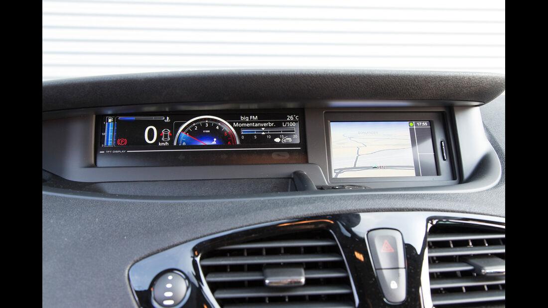 Renault Gr. Scénic 1.5 dCi Dynam., Display, Luftausströmer