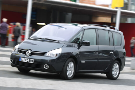 Renault Grand Espace dCi 175 FAP Initiale, Frontansicht