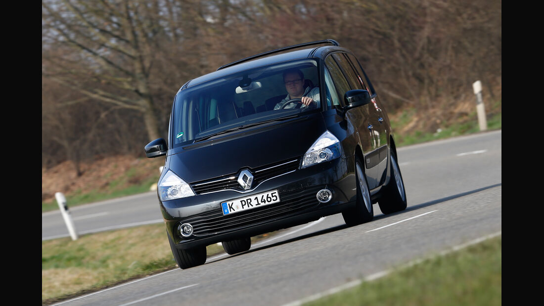 Renault Grand Espace dCi 175, Frontansicht