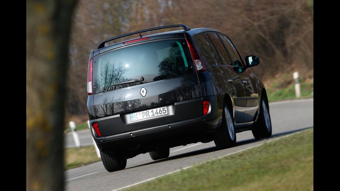 Renault Grand Espace dCi 175, Heckansicht