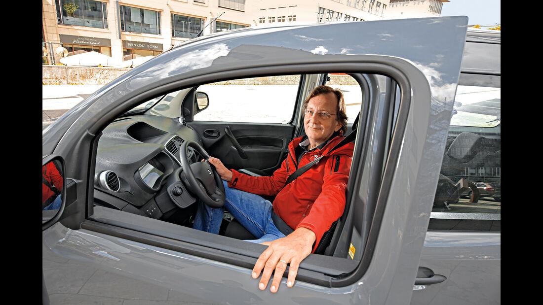 Renault Grand Kangoo 110 dCi, Claus Mühlberger