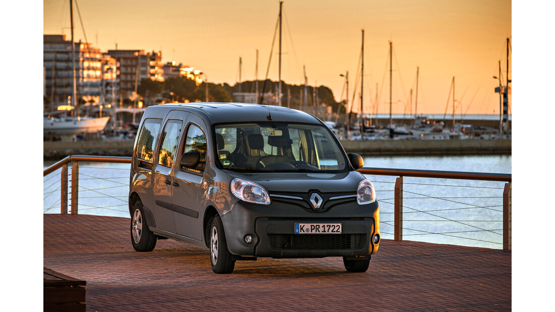 Renault Grand Kangoo 110 dCi, Frontansicht