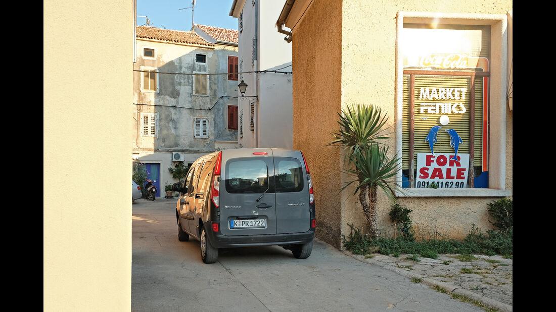 Renault Grand Kangoo 110 dCi, Heckansicht