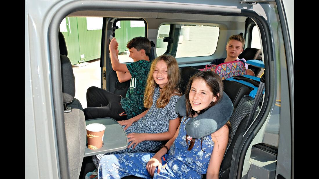 Renault Grand Kangoo 110 dCi, Sitze
