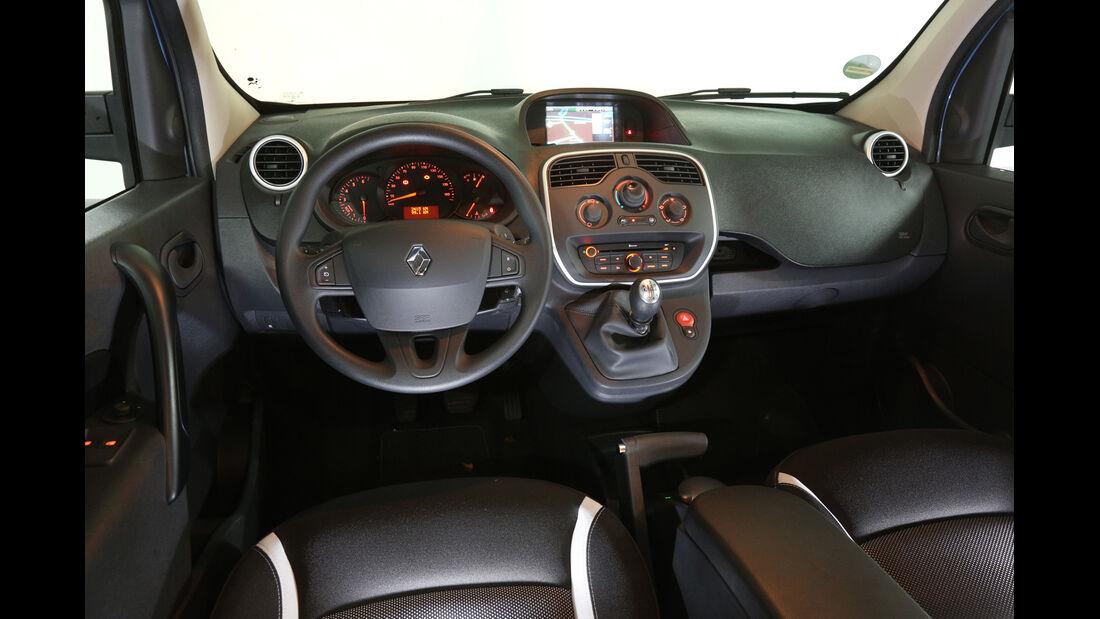 Renault Grand Kangoo, Cockpit