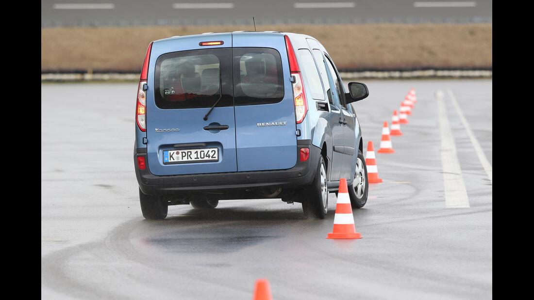 Renault Grand Kangoo, Heckansicht