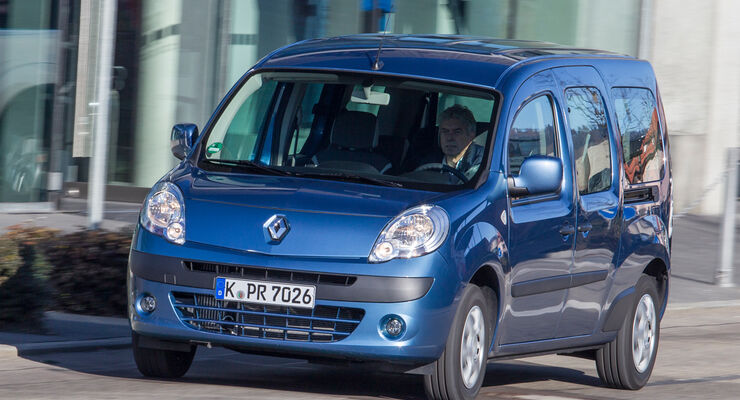 Renault Grand Kangoo dCi 110, Frontansicht
