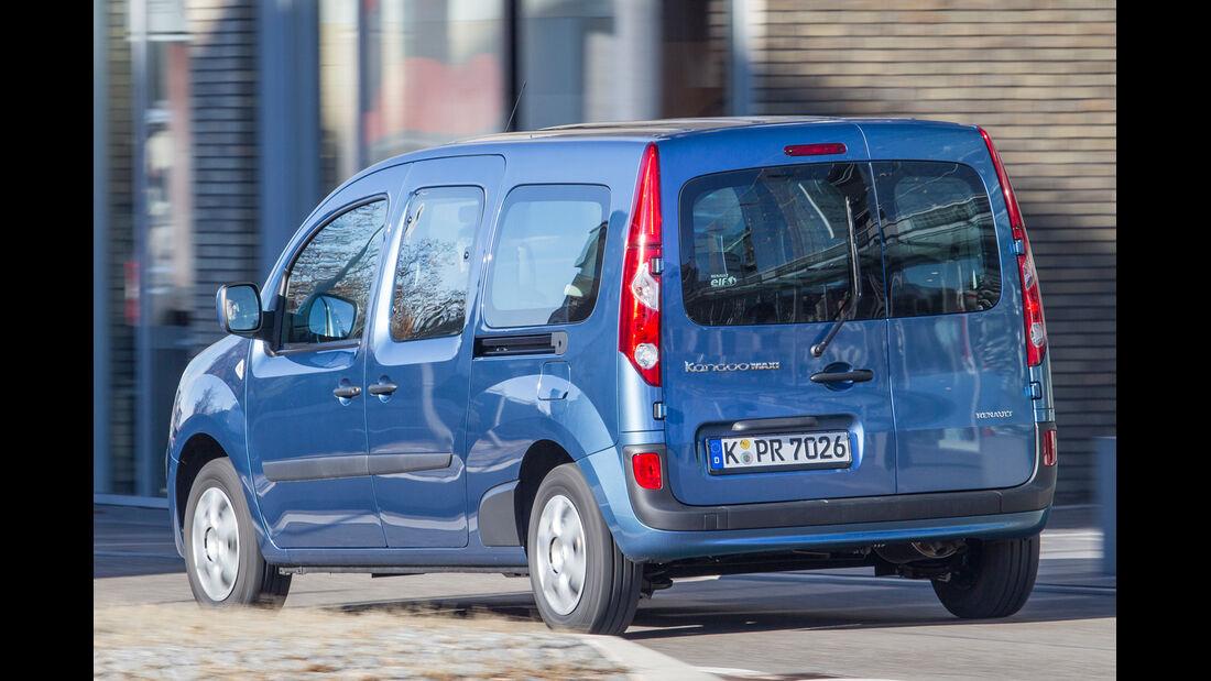 Renault Grand Kangoo dCi 110, Heckansicht