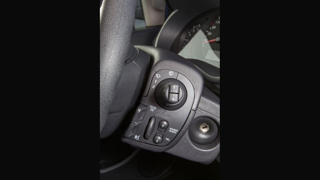 Renault Grand Kangoo dCi 110, Lenkradschalter