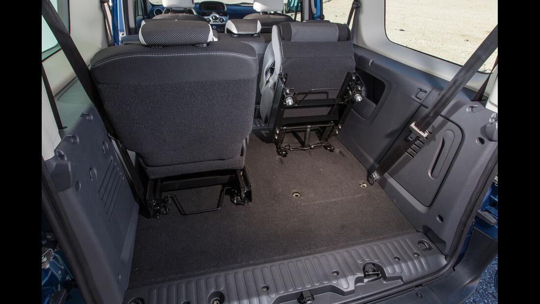 Renault Grand Kangoo dCi 110, Rücksitz, Umklappen