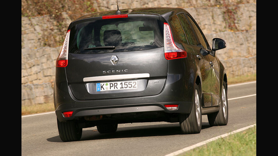Renault Grand Scénic, Peugeot 5008