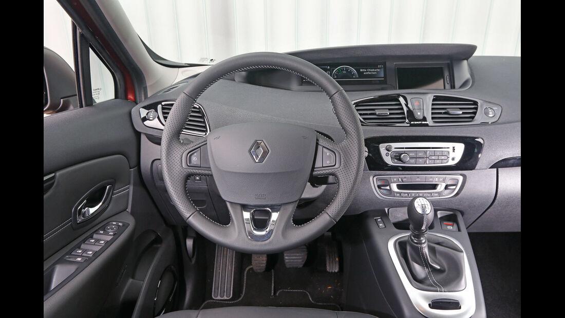Renault Grand Scénic dCi 130, Cockpit