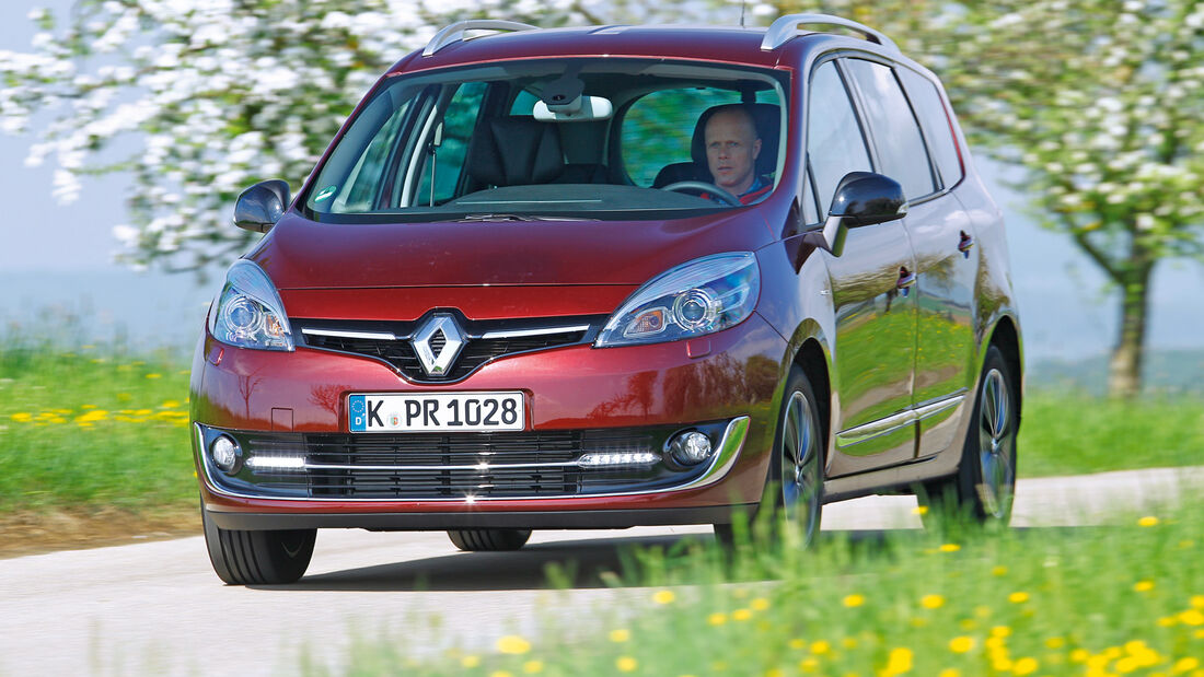 Renault Grand Scénic dCi 130, Frontansicht