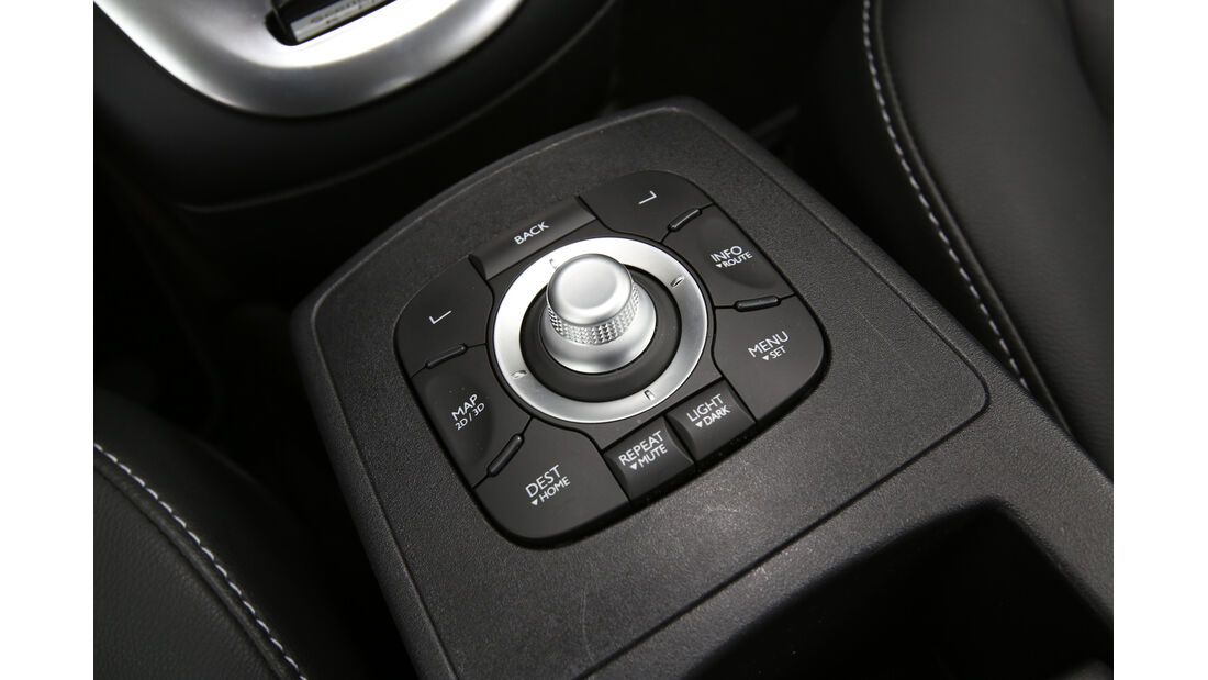 Renault Grand Scénic dCi 150 FAB, Bedienelement