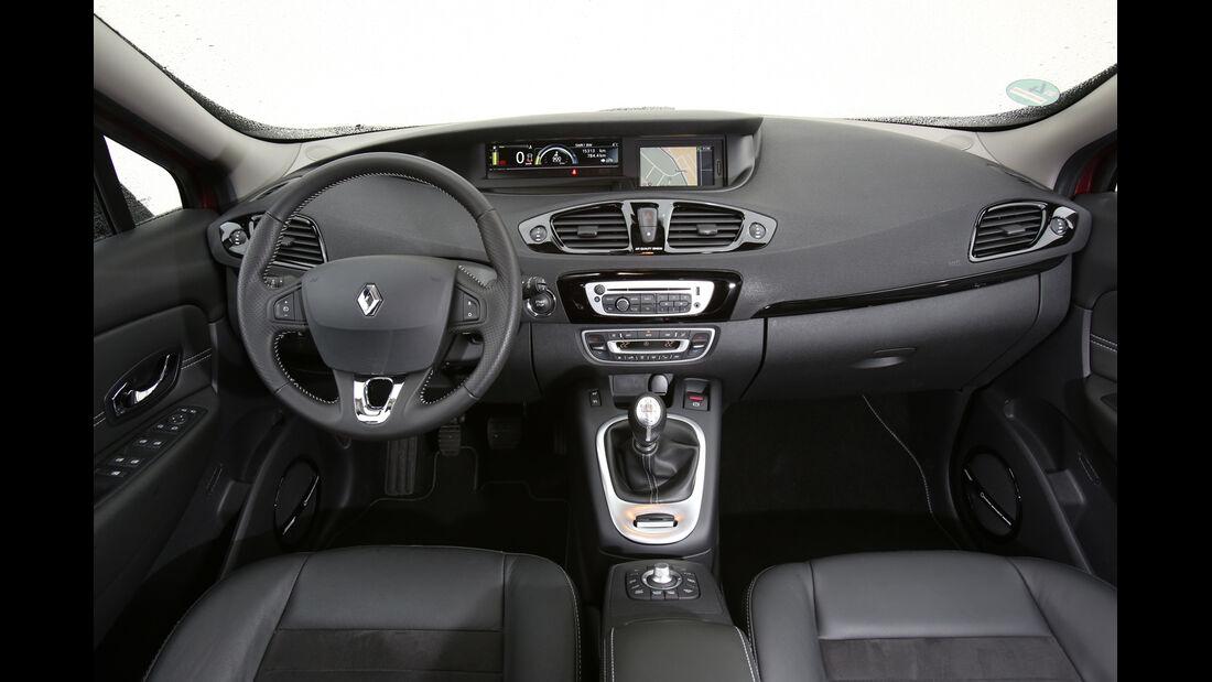Renault Grand Scénic dCi 150 FAB, Cockpit