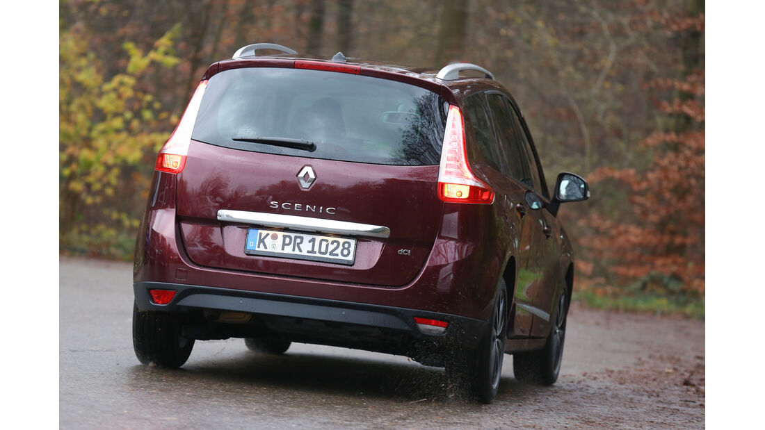 Renault Grand Scénic dCi 150 FAB, Heckansicht