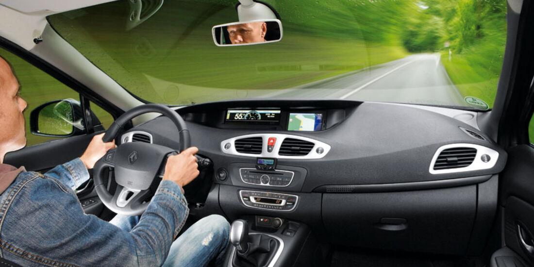 Renault Grand Scenic, Cockpit