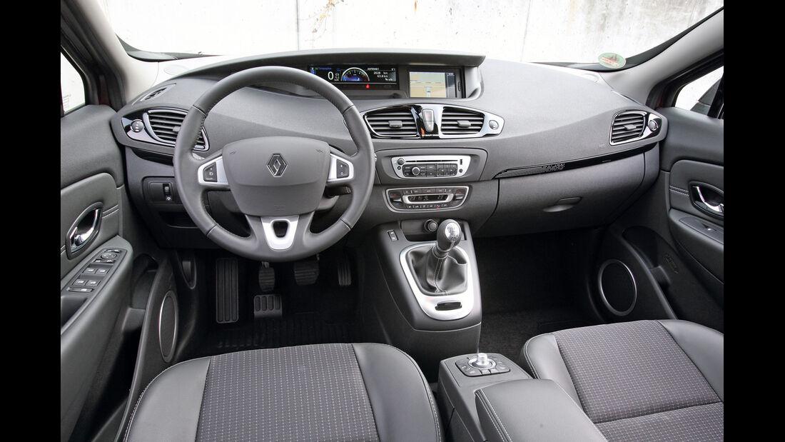 Renault Grand Scenic Dci 110 EFP, Cockpit, Lenkrad