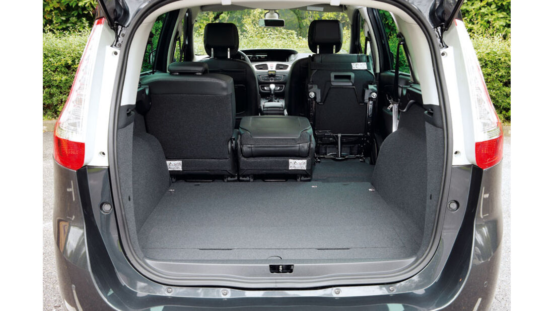 Renault Grand Scenic, Kofferraum
