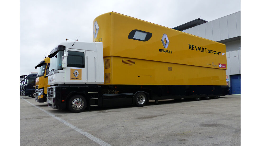 Renault - Impressionen - Jerez - Formel 1-Test - 30. Januar 2015