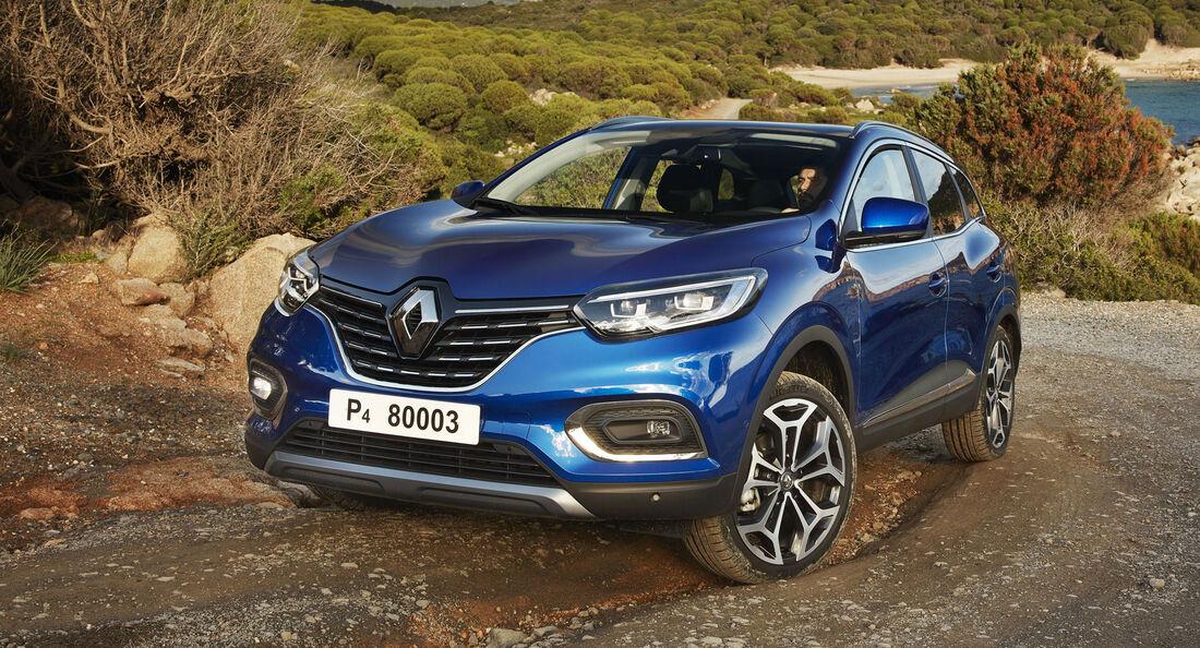 Renault Kadjar (2019) Facelift: neue Optik, Euro 6d Temp