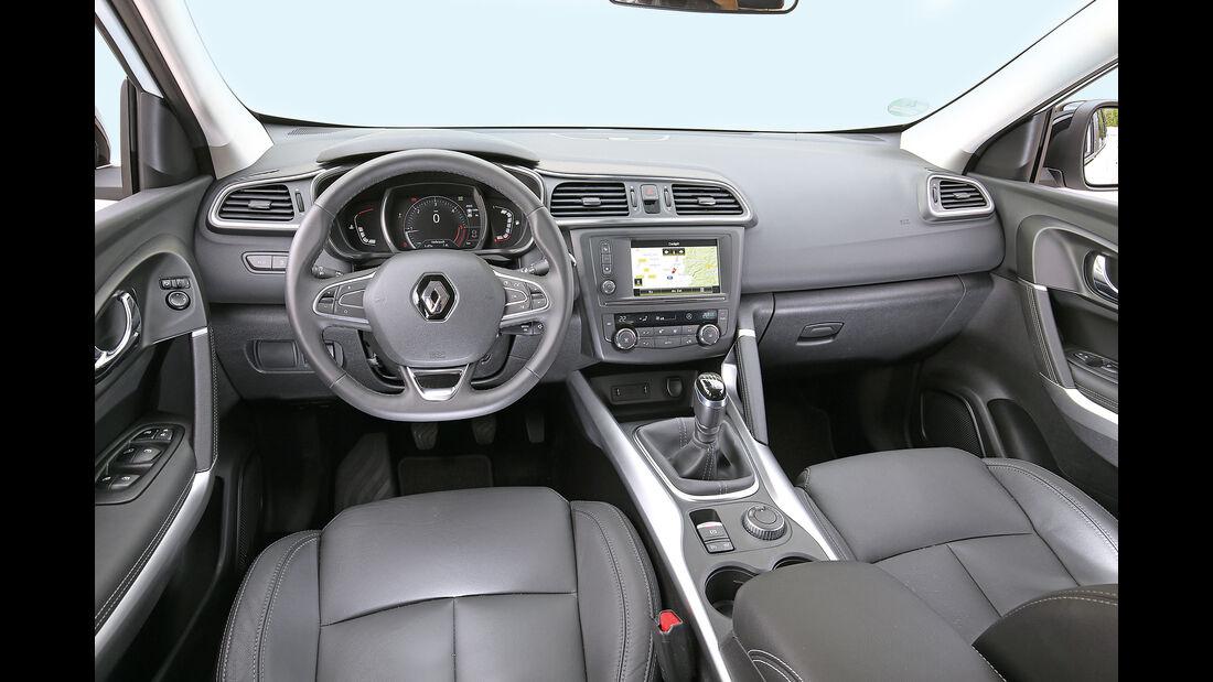 Renault Kadjar DCi 130 4X4, Cockpit