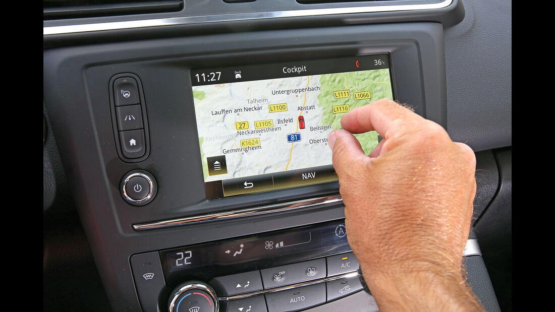 Renault Kadjar DCi 130 4X4, Display, Infotainment