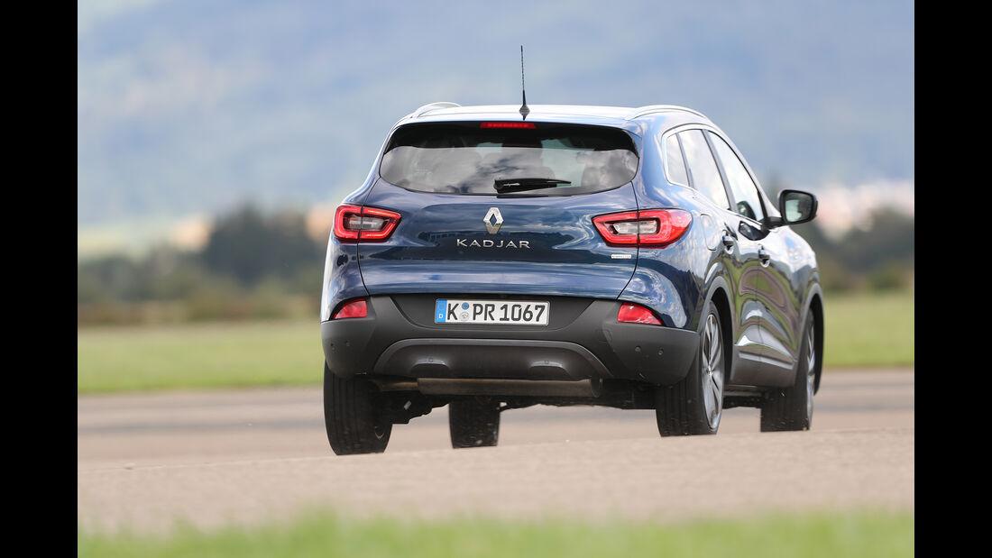 Renault Kadjar, Exterieur Heck
