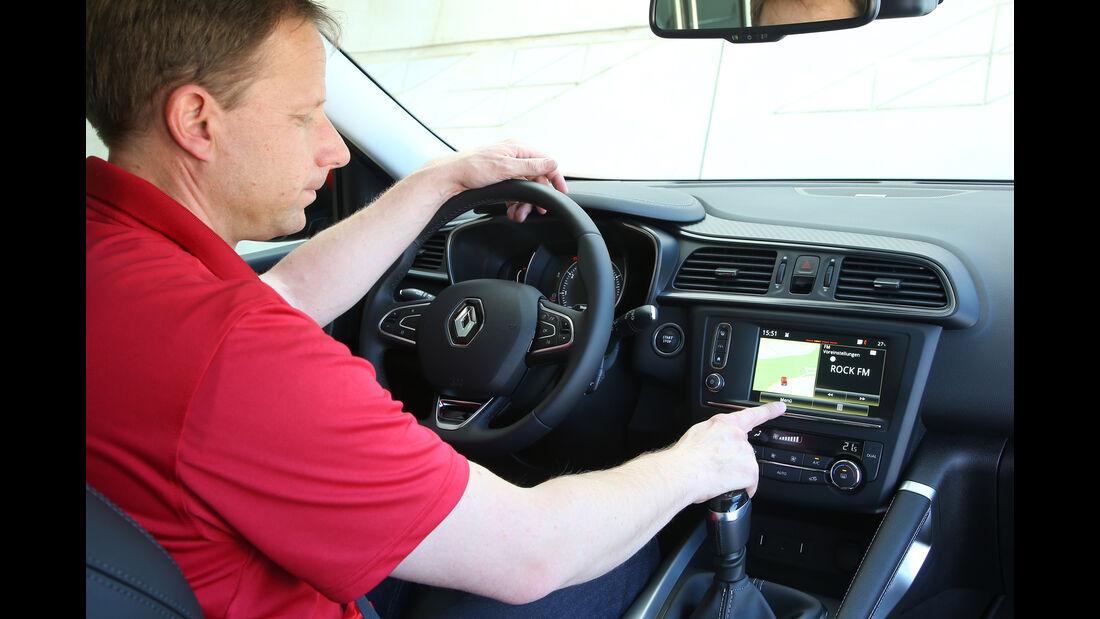 Renault Kadjar, Fahrbericht, Cockpit