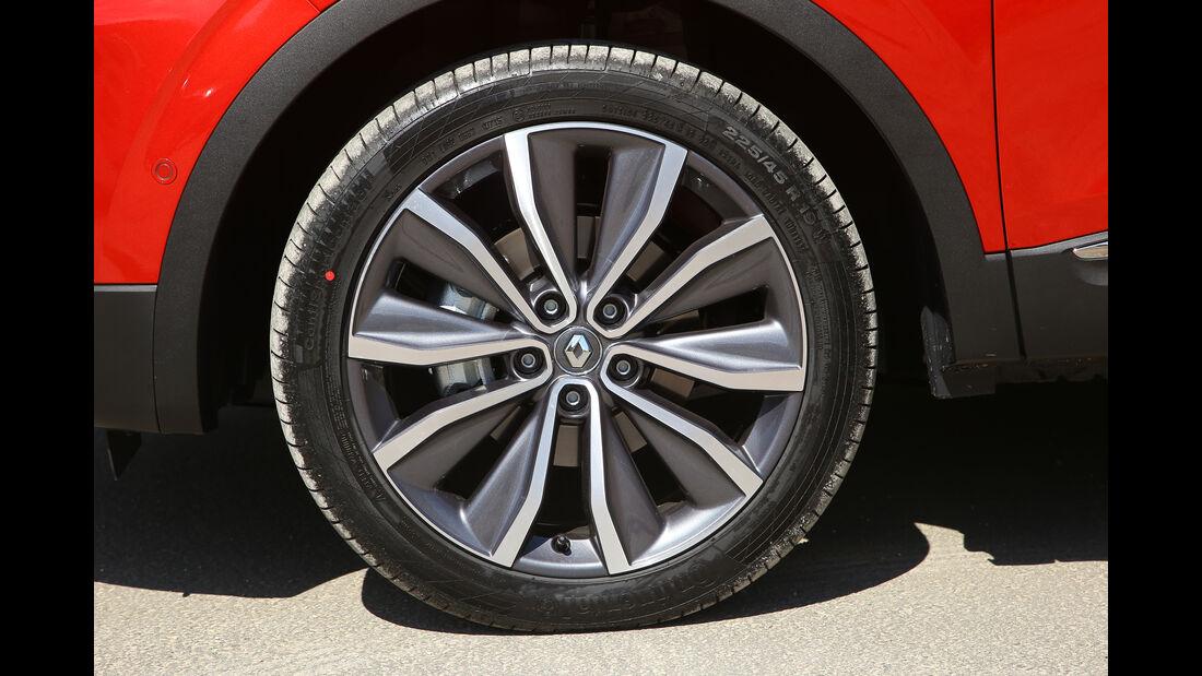 Renault Kadjar, Fahrbericht, Reifen