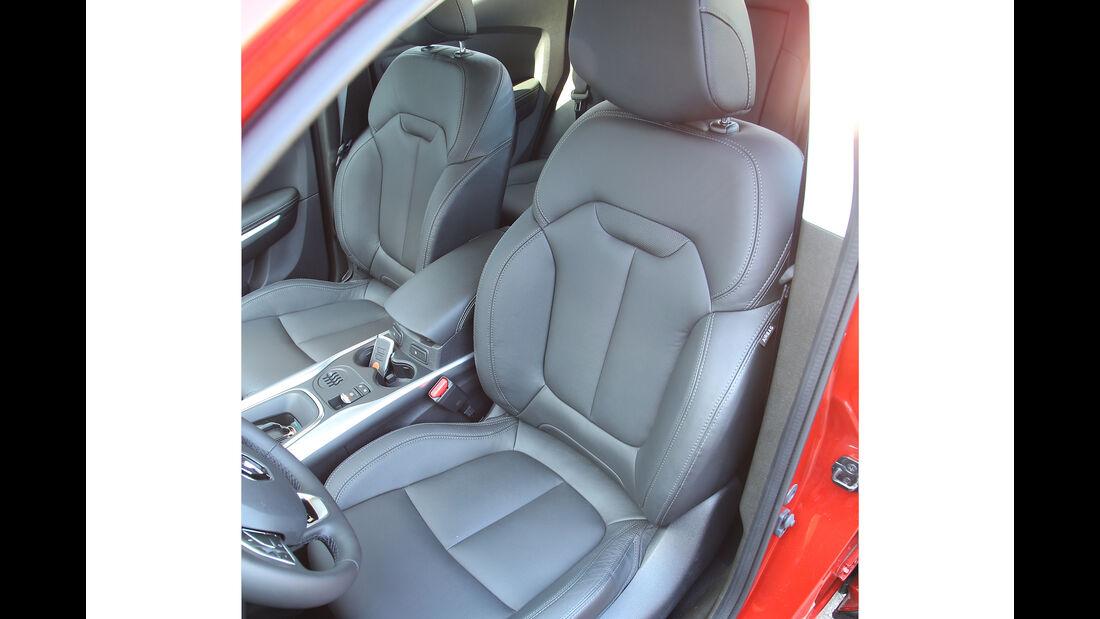Renault Kadjar, Fahrbericht, Vordersitze
