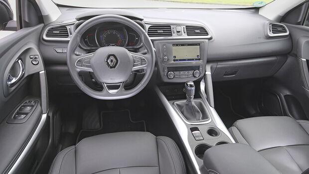 Renault Kadjar, Interieur