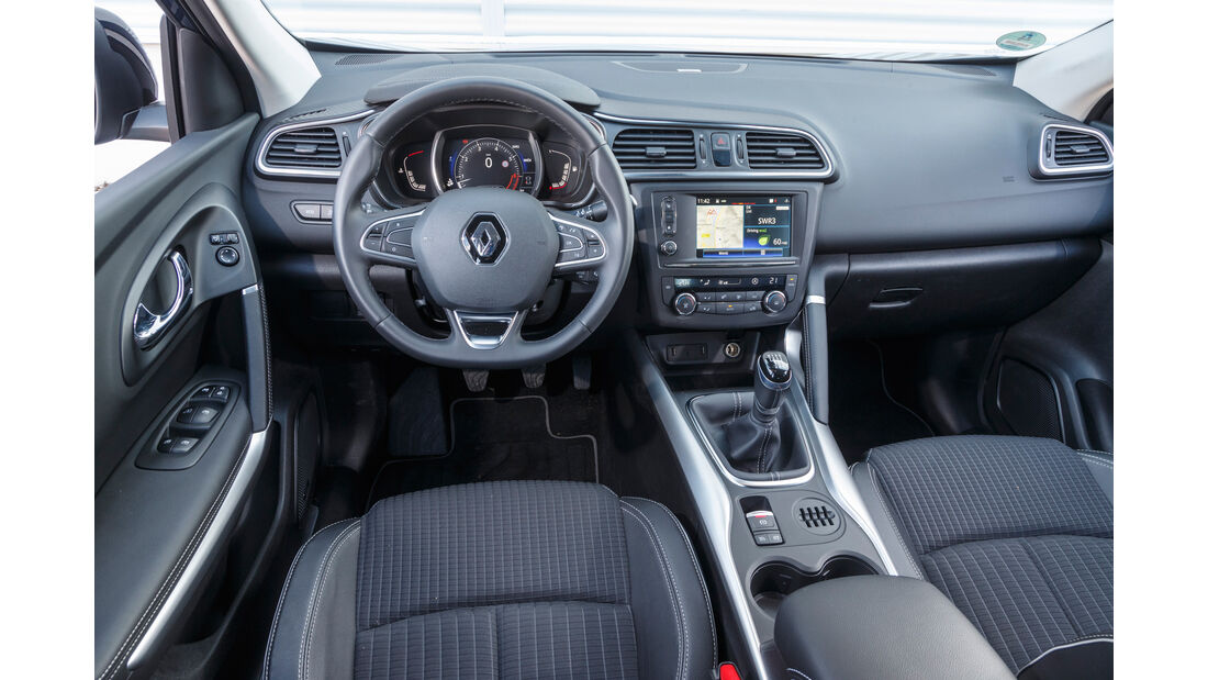 Renault Kadjar TCe 130, Cockpit