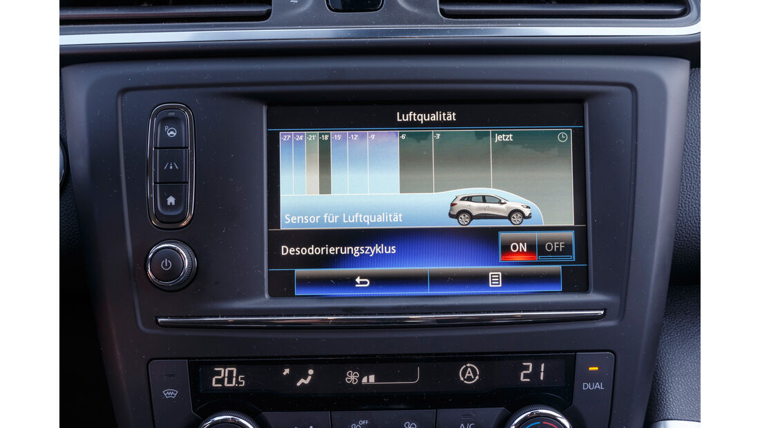 Renault Kadjar TCe 130, Infotainment