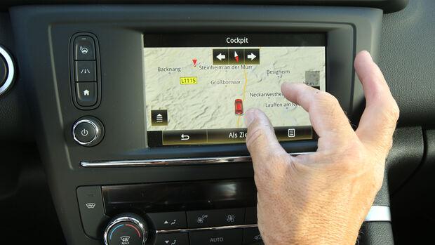 Renault Kadjar dCi 130 4x4, Touchscreen
