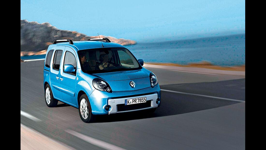 Renault Kangoo, Frontansicht