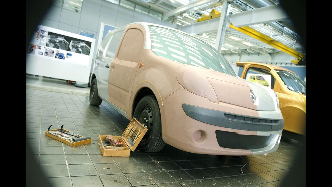 Renault Kangoo II Entwicklung