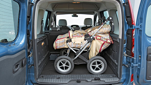 Renault Kangoo Laderaum