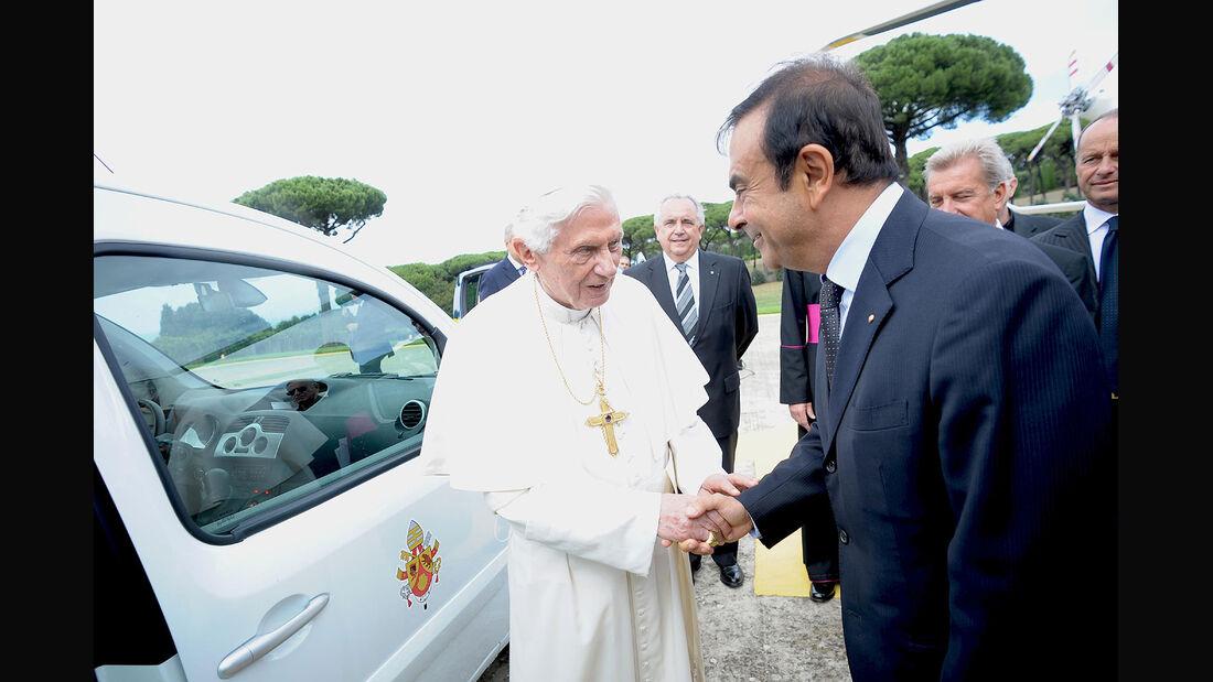 Renault Kangoo Maxi Z.E. Papst Benedict